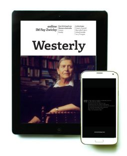 Westerly: IM Fay Zwicky cover